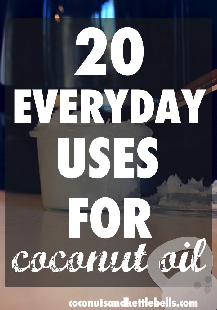 20 Everyday Uses for Coconut Oil