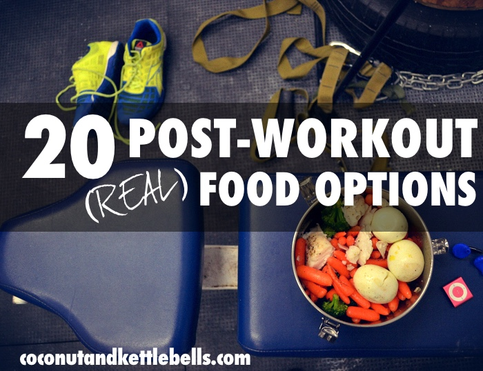 20 Post-Workout Foods