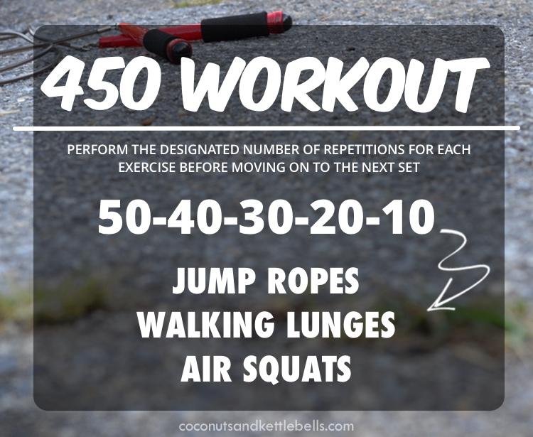 450 Workout