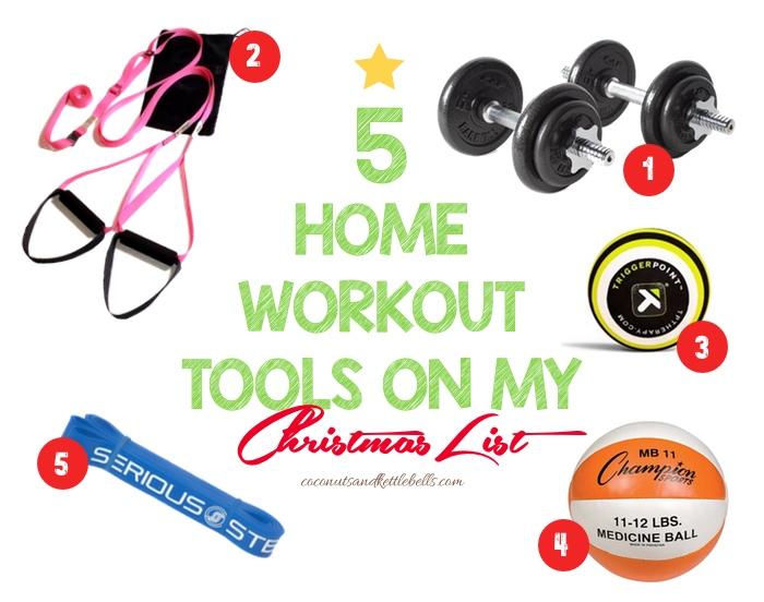 5 Home Workout Tools on My Christmas List (For serious)