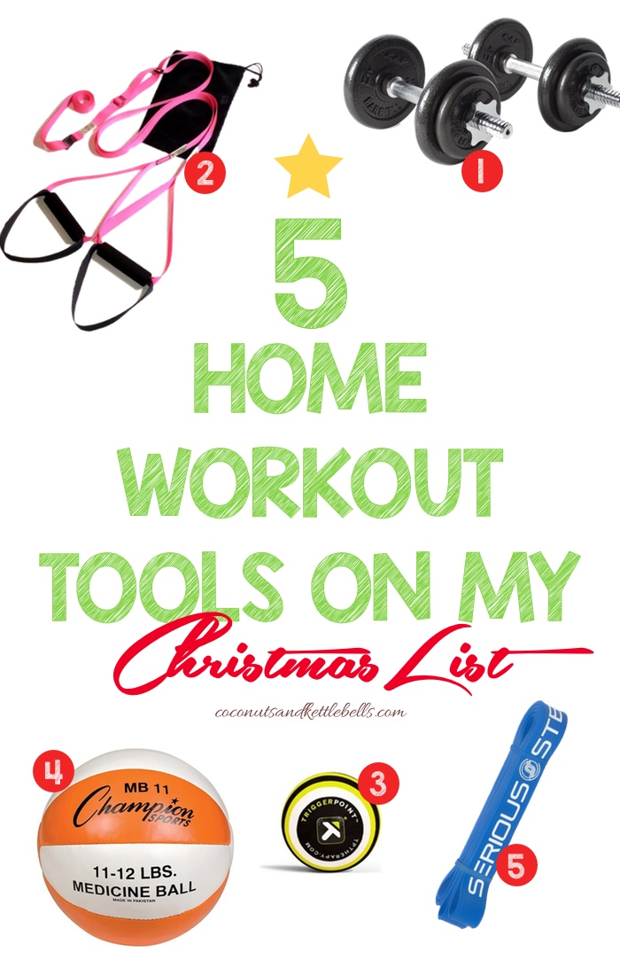 5 Home Workout Tools on My Christmas List - Coconuts and Kettlebells
