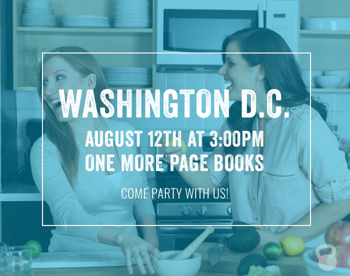 Join us in DC for the Coconuts and Kettlebells Book Launch Party!