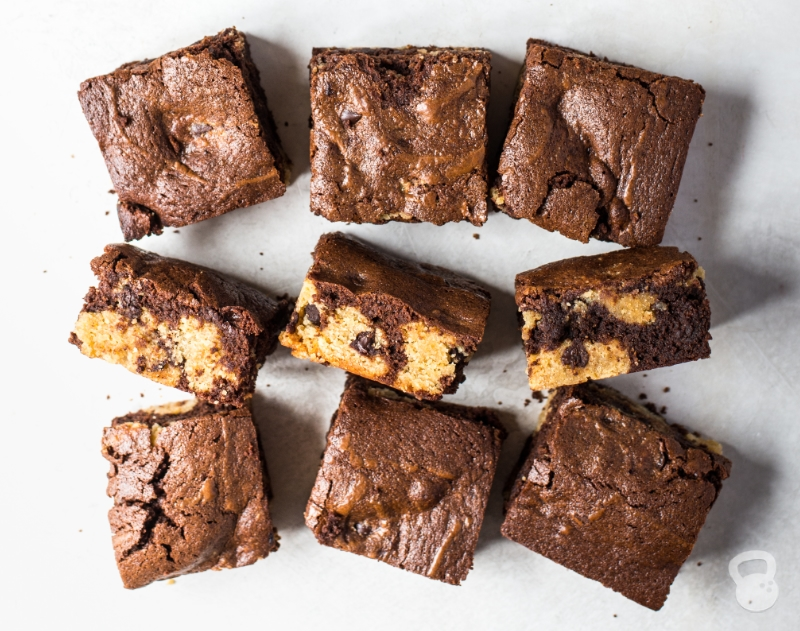 Paleo Chocolate Chip Cookie Brownies