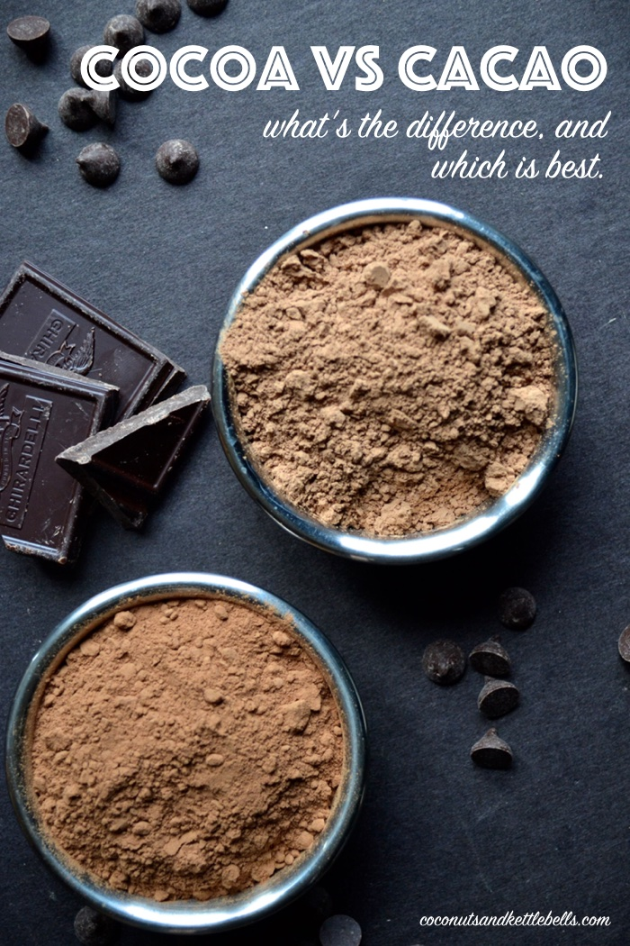 Cocoa vs Cacao - What's the Difference?