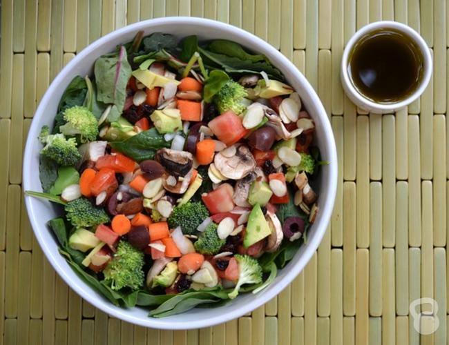 Coconut Oil Salad Dressing