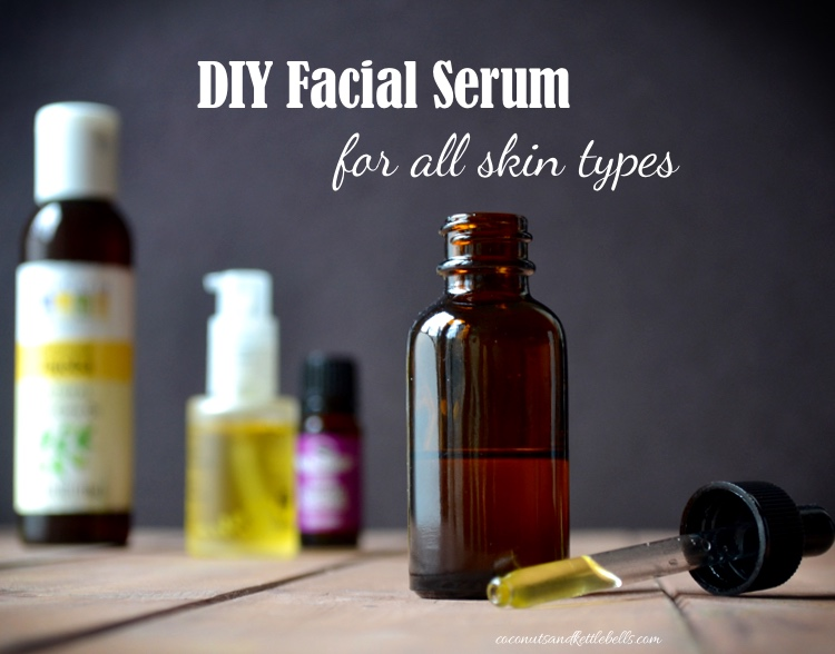 DIY Facial Serum (for all skin types)