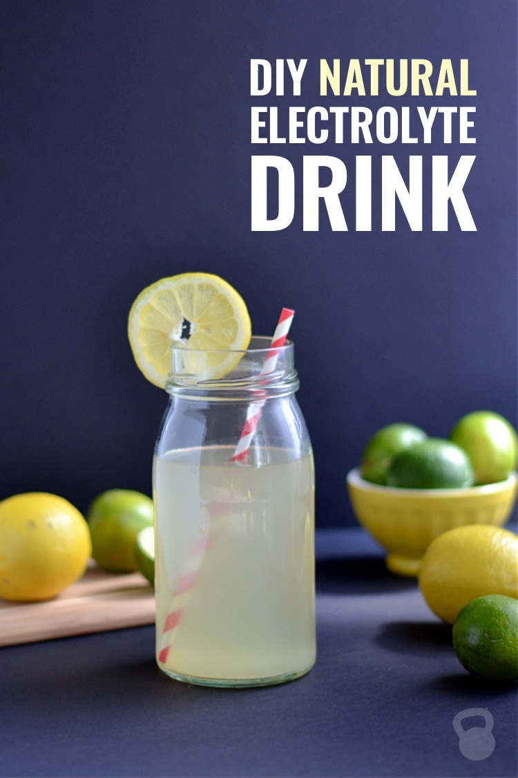 DIY Natural Electrolyte Drink Recipe