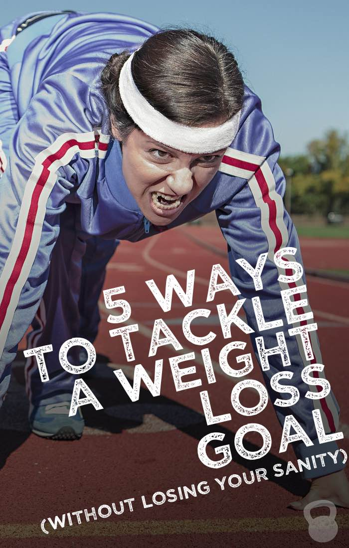 How to Tackle a Weight Loss Goal (without losing your sanity!)