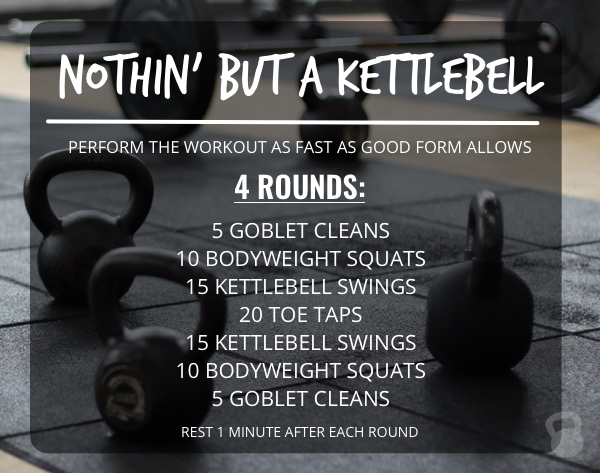 Nothin' But a Kettlebell Workout