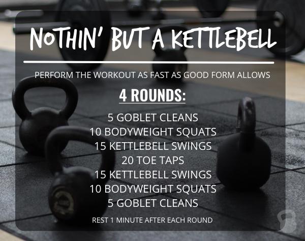 Nothin' But a Kettlebell Workout