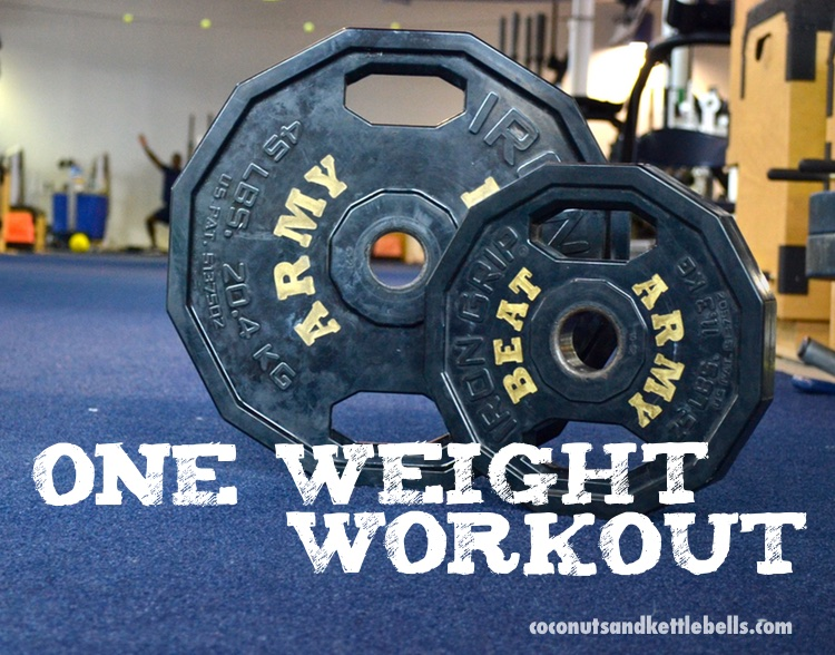 One Weight Workout