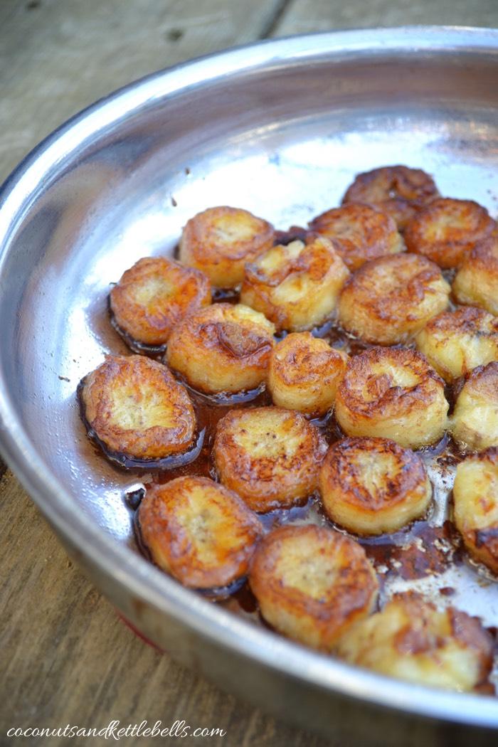 Pan Fried Bananas - Coconuts & Kettlebells