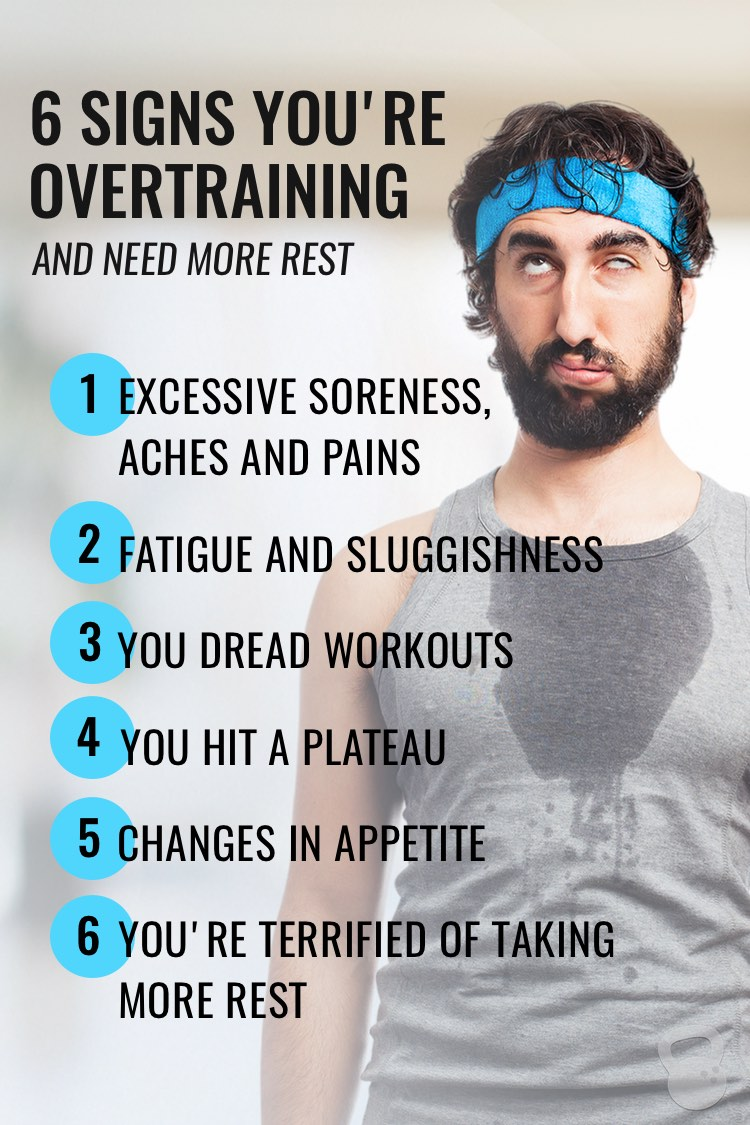 Signs You're Overtraining and Need More Rest