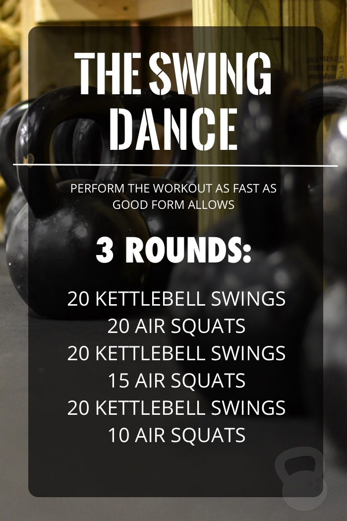 Swing Dance Kettlebell Workout - Coconuts & Kettlebells