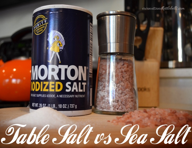 Table Salt vs Sea Salt: What's the Difference?