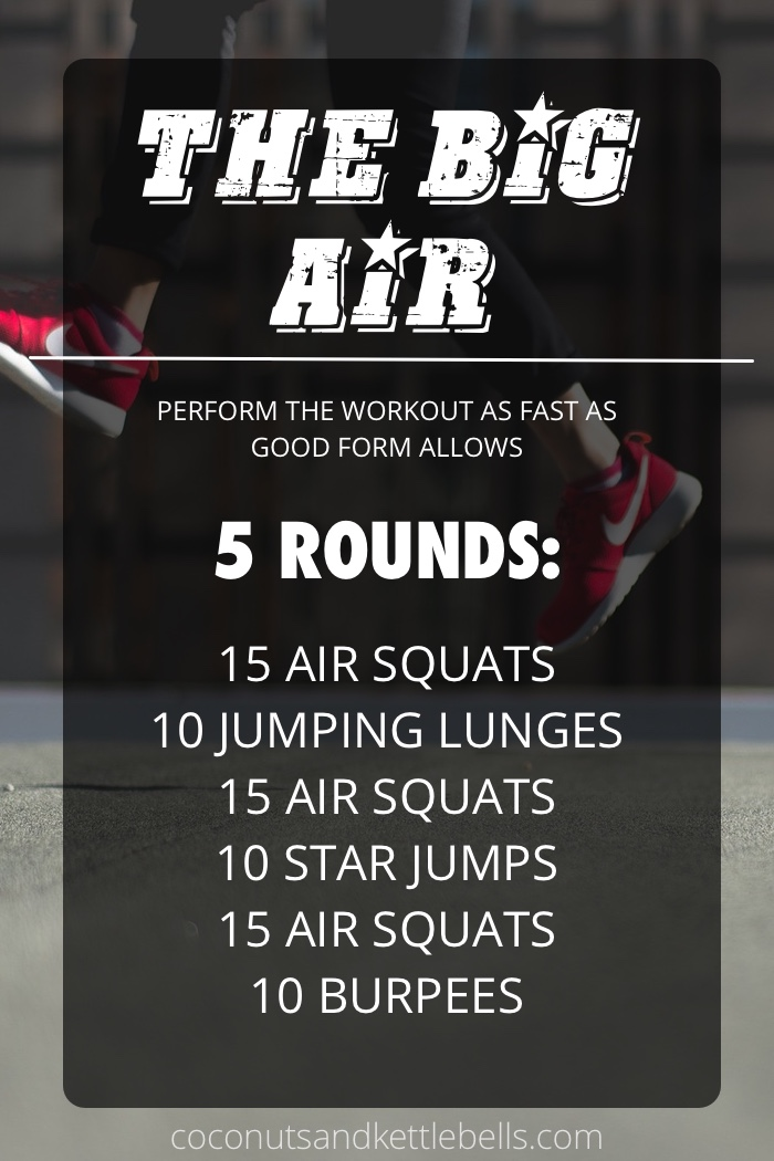 The Big Air Workout - Coconuts & Kettlebells