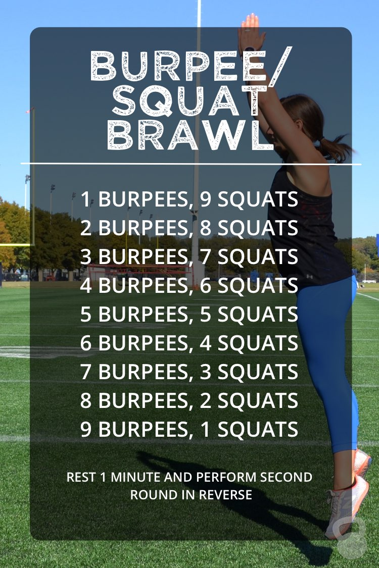 The Burpee Squat Home Workout