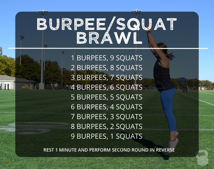Burpee/Squat Brawl