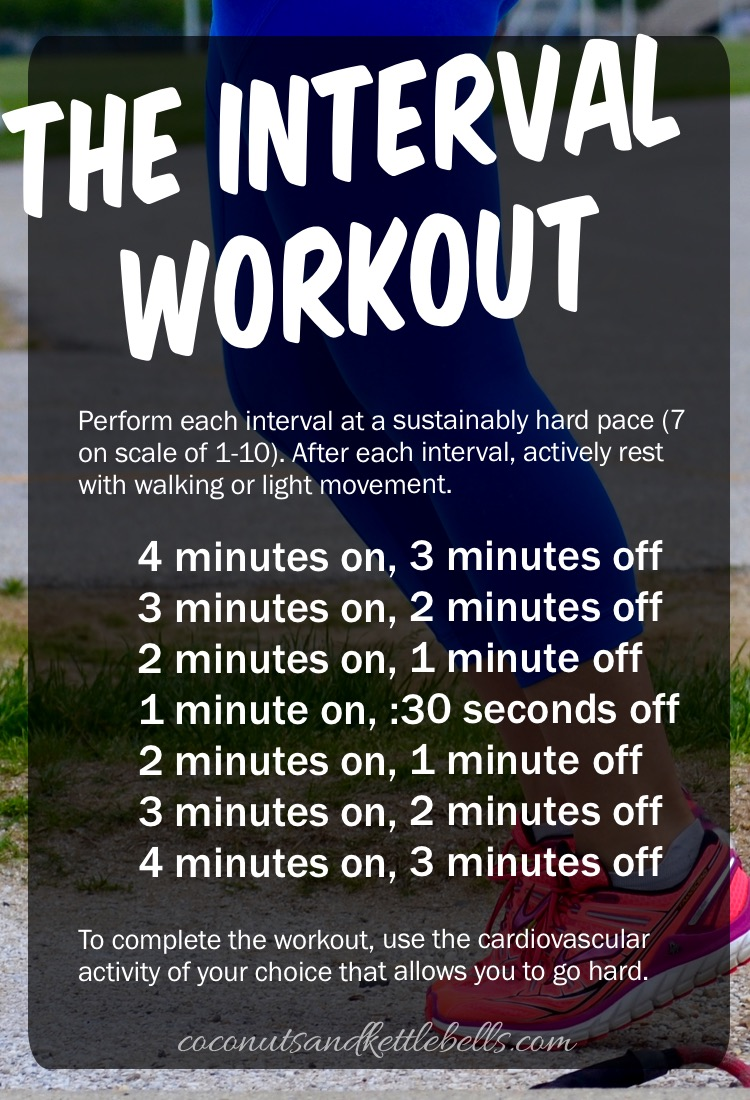 The Interval Workout - Coconuts & Kettlebells (awesome workout - can do  anywhere!)