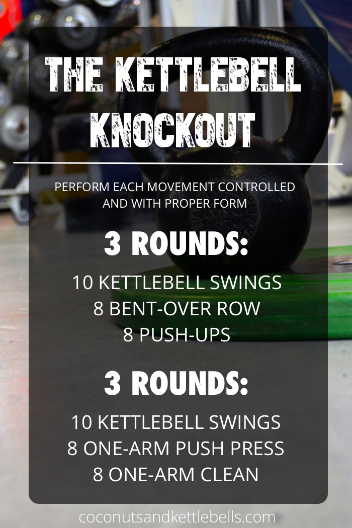The Kettlebell Knock - Coconuts & Kettlebells