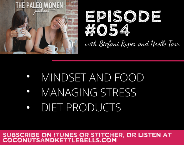 #054: Mindset and Food, Managing Stress, & Diet Products