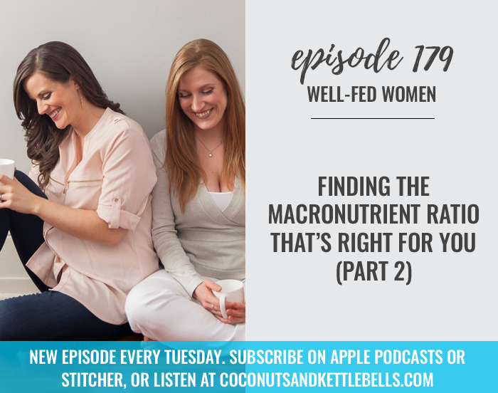 #179: Finding the Macronutrient Ratio That's Right for You (Part 2)