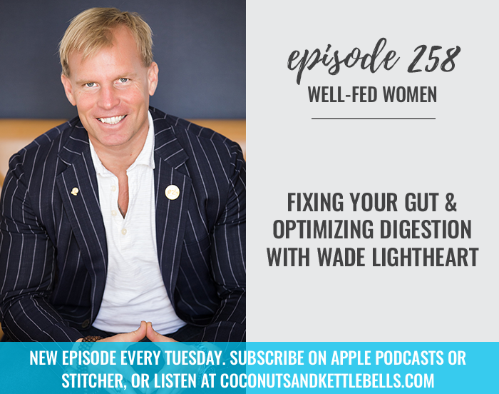 #258: Fixing Your Gut and Optimizing Digestion with Wade Lightheart