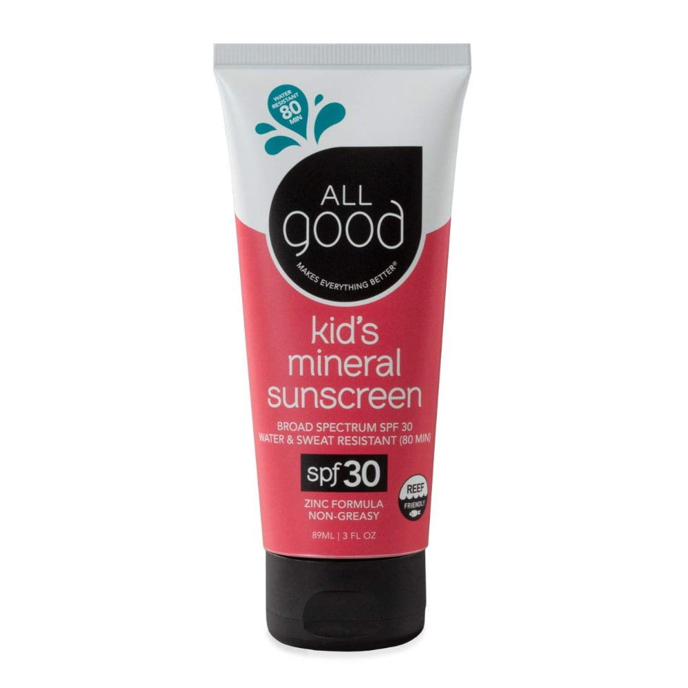 all good mineral sunscreen for kids review