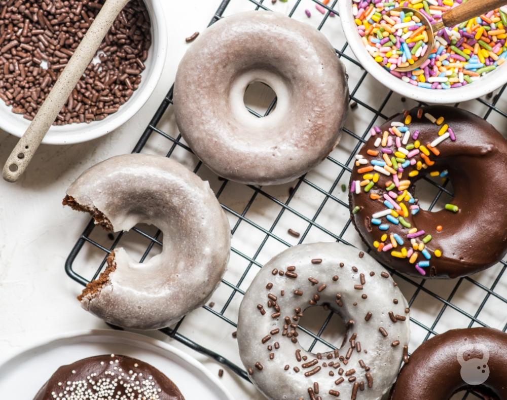 Baked Chocolate Donuts (Grain-Free, Dairy-Free, Paleo)