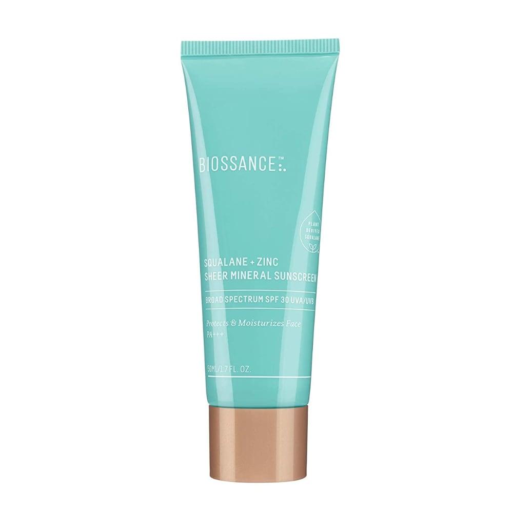 biossance mineral sunscreen