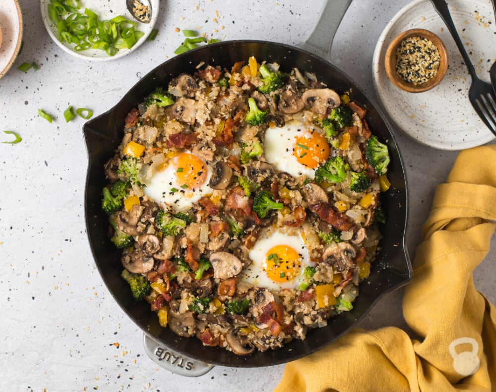 Breakfast Fried Rice (Paleo, Whole30)