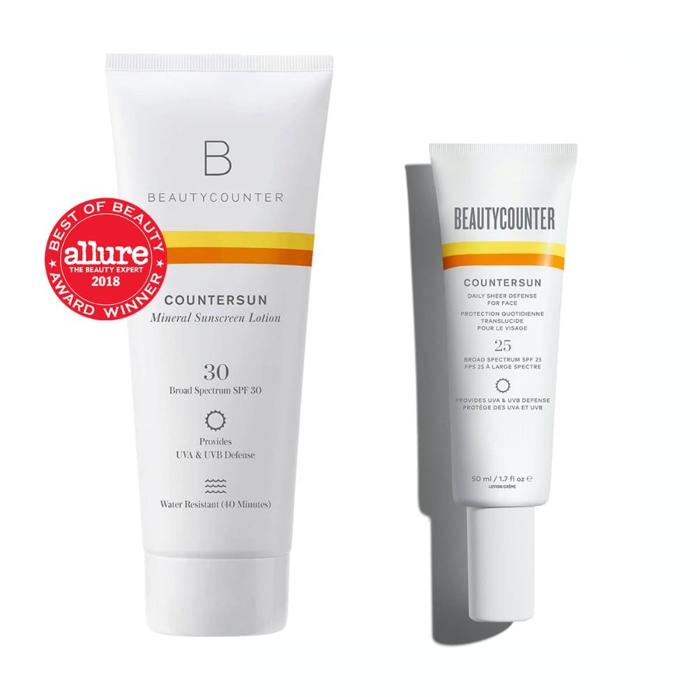 beautycounter countersun sunscreen safe sunscreen review