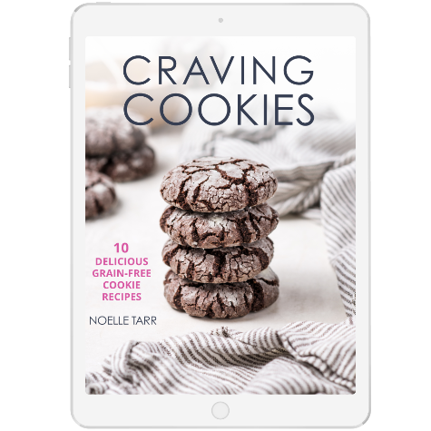 DOWNLOAD CRAVING COOKIES: 10 GRAIN-FREE COOKIE RECIPES