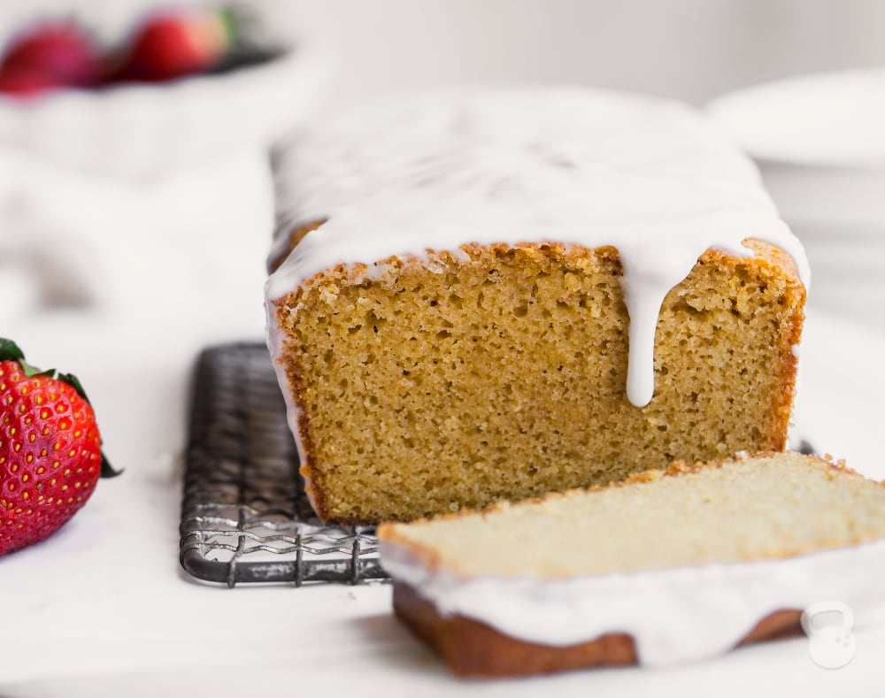 Gluten Free Pound Cake (Paleo)