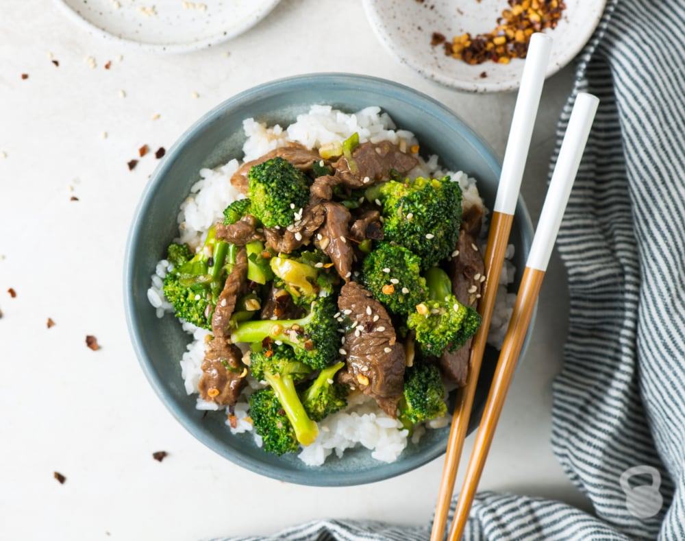 Beef and Broccoli Stir Fry (Paleo, Whole30)