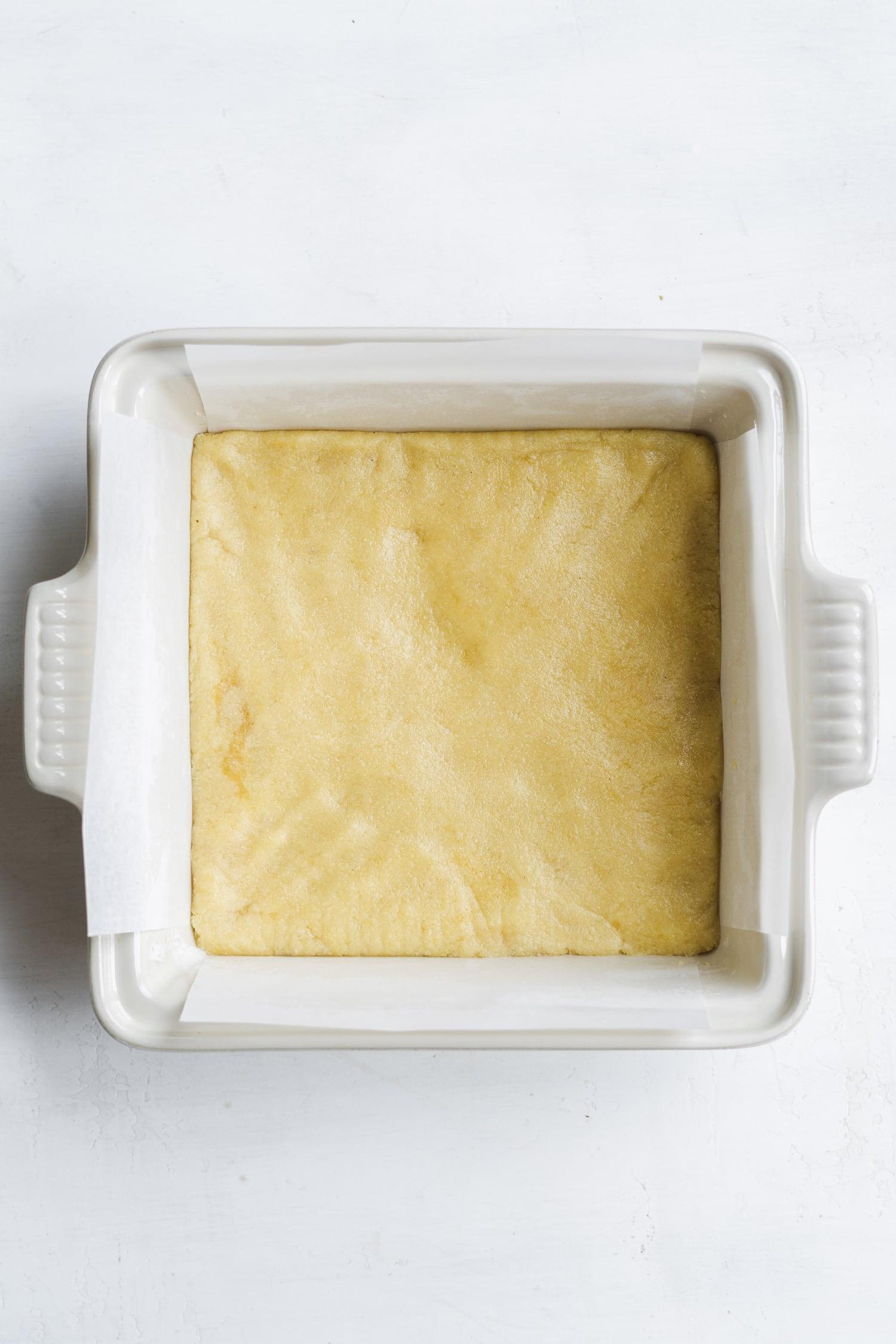 shortbread crust for lemon bars