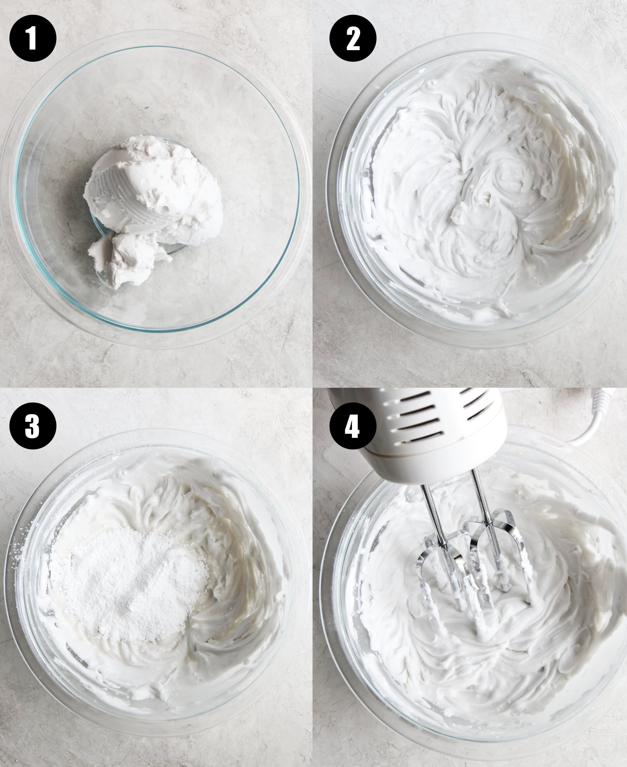 steps for how to make coconut whipped cream
