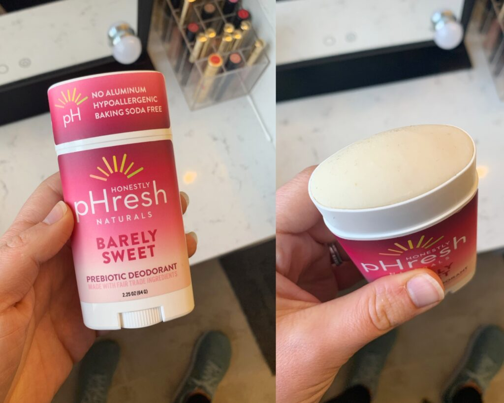 Honestly pHresh natural deodorant
